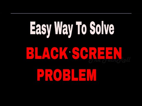 How to FIX Windows 10/8/7 BLACK Screen or Death Screen After Login/Boot up (Noisy Music Removed)