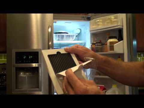 Change a Frigidaire Refrigerator Air Filter