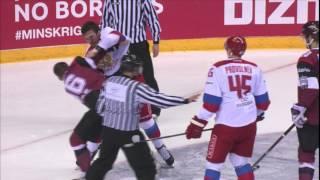 Ice hockey - Friendly game - Latvia v Russia | 1 : 2