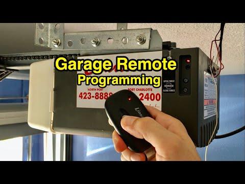 How To Program Extra or Spare Garage Door Opener Remote - DIY