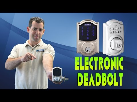 Keyless Entry Electronic Deadbolt - Schlage Keypad Deadbolt & Schlage Connect Installation