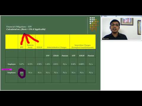 Learn Employees Provident Fund Calculation rules - by Metier HR Services