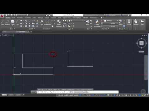 Using the Coordinate System in AutoCAD