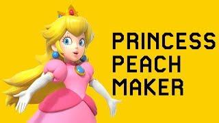 Princess Peach Maker - Super Mario Maker Mod - getplaypk