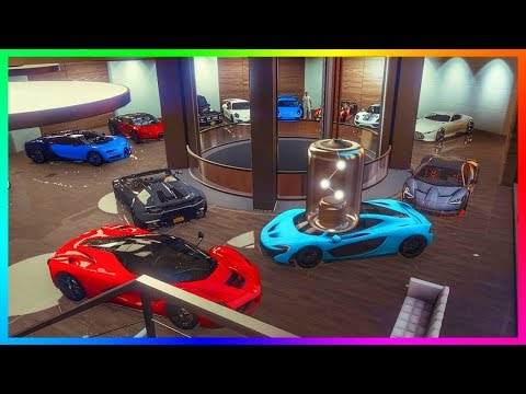 GTA Online 2018 Updated 60 Car Garage Tour - Over $100,000,000 Worth of NEW Vehicles & MORE! (GTA 5)