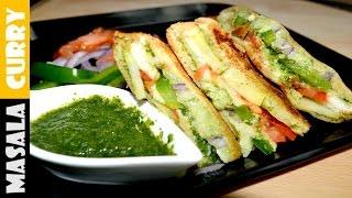 BOMBAY VEG Sandwich recipe   BOMBAY Masala Toast   VEG Sandwich Recipe