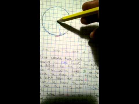 Approximation of π: Area of a Circumscribed Polygon