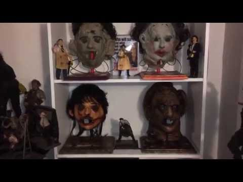 Leatherface Mask Display Stands