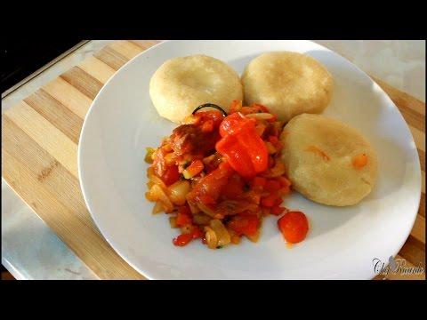 Tin Mackerel With Cornmeal Dumpling Jamaican Cooking | Recipes By Chef Ricardo
