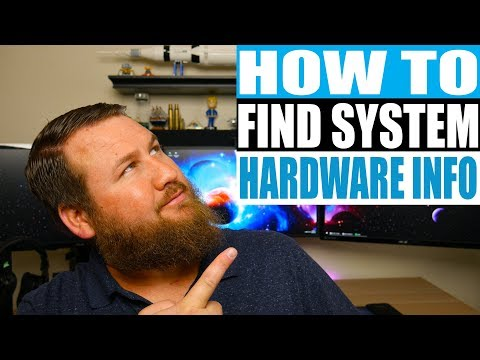 How to check your PC's CPU, RAM, and other system hardware!