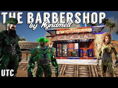 Ark Barbershop :: Cragg's Island Barber Shoppe by Myndmelt :: Getting Haircuts and Tek Armor :: UTC