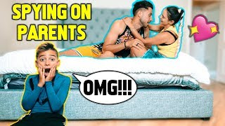 SPYING On My PARENTS For A DAY! **I CAUGHT THEM**   The Royalty Family