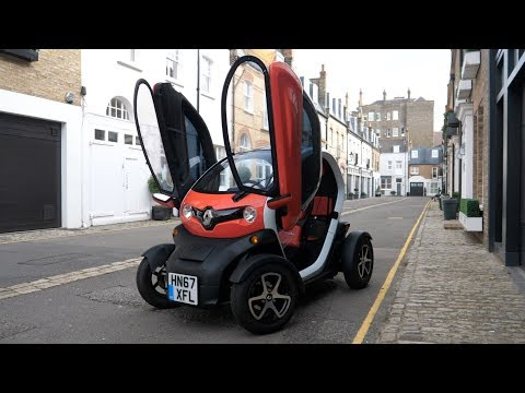 Living With A Renault Twizy In Central London