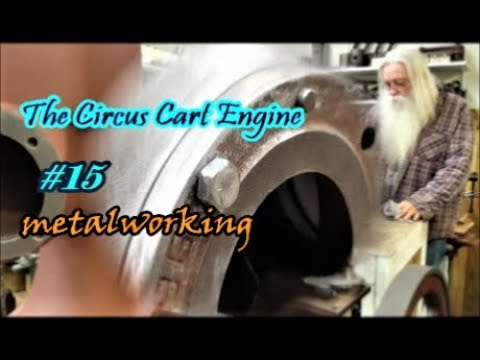 The Circus Cart Engine metalworking hand filing #15