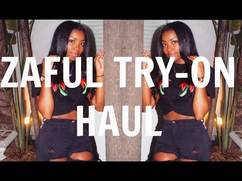 ZAFUL CLOTHING TRY-ON HAUL | UpBra + Gem Stone King