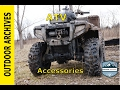 ATV Ride: Testing new accessories and Bear claw tires