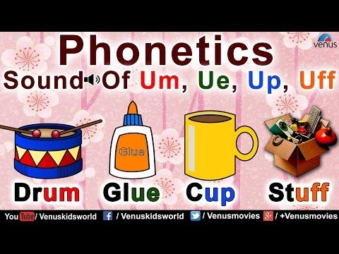 Phonetics Sound Of Um, Ue, Up, Uff