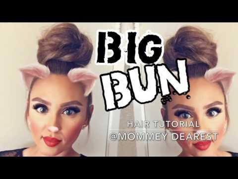 how to make a big bun