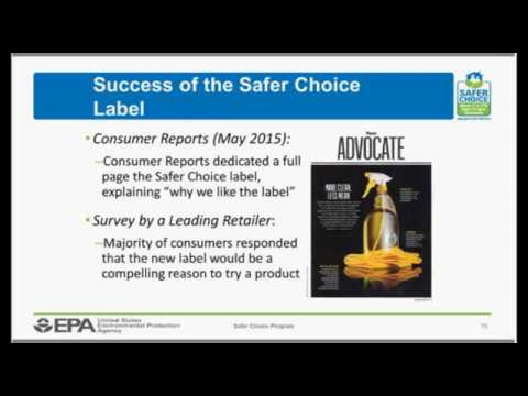 Safer Choice Webinar: Retailer and Supplier Perspectives