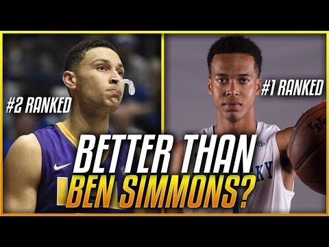 This Player Was BETTER Than BEN SIMMONS In High School... What Happened?