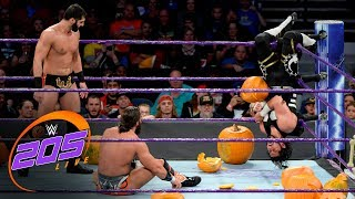 Ali vs. Daivari vs. Nese vs. Metalik - Fright Night Fatal 4-Way Match: WWE 205 Live, Oct. 31, 2017