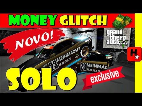 GTA 5 online Solo Money Glitch Dinheiro Infinito (GTA V New Car Duplication Glitch after Hotfix1.43)