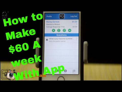Apps that make me money | Best App To Earn Money | 1Q  | Make $60 with An App | Money making apps
