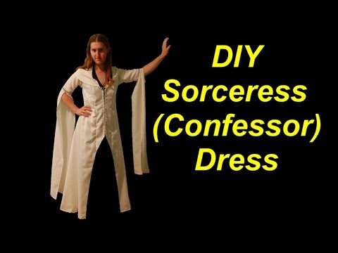 How to Make a Medieval Sorceress Costume (Confessor Dress)