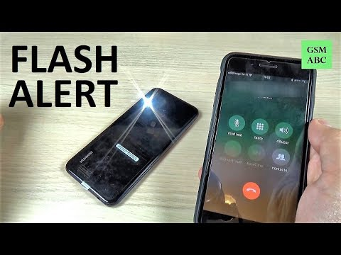 How to Set Up FLASH ALERT on Huawei P20, Lite & Pro | NOT BUILT IN!