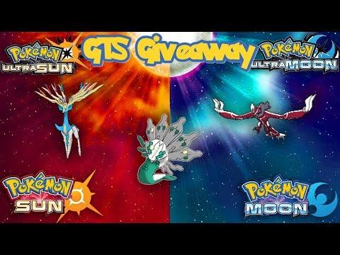 Pokémon SUN & MOON/ULTRA GTS GIVEAWAY |  | XYZ LEGENDS | GAMESTOP EVENT ZYGARDE
