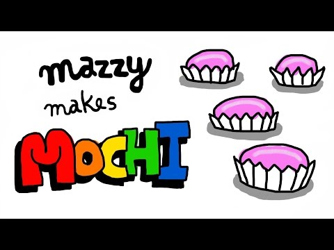 How to make 5 MINUTE MICROWAVE MOCHI - Simple Recipes with Baby Mazzy (EPISODE 4)