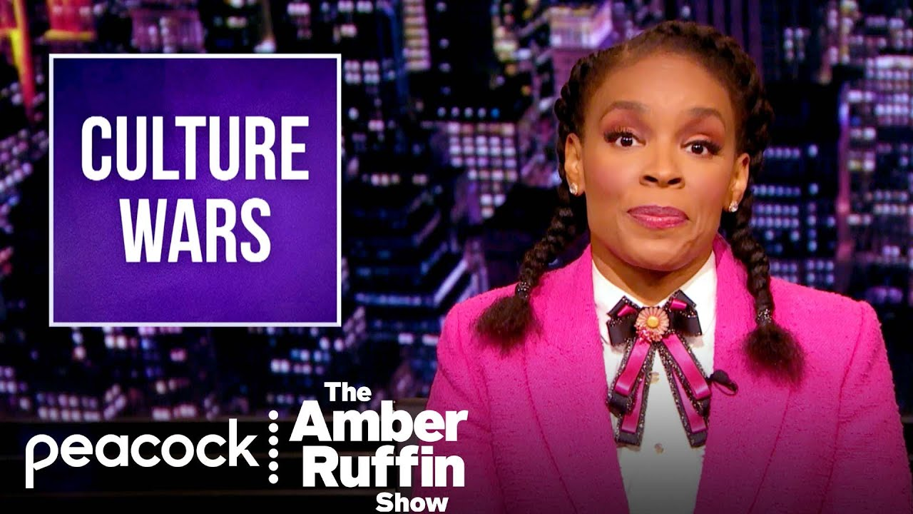 """How Culture Wars and White Supremacy Go Together Like """"Green Eggs and Ham""""   The Amber Ruffin Show"""