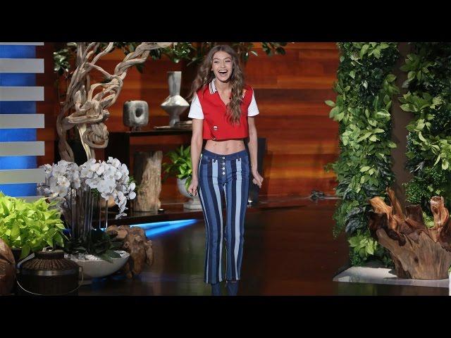 Download The Gorgeous Gigi Hadid's Ellen Debut! MP3 Gratis