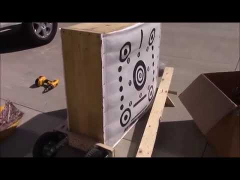 How to Make a Portable Third Hand Archery Target