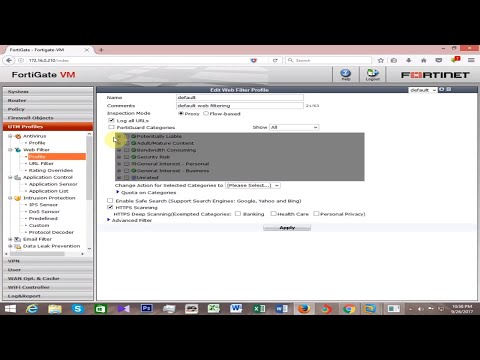 How to Block Websites in Fortigate Firewall
