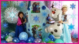 Join Elsa and Anna as they open a Frozen Giant Surprise Egg. It's a Disney Frozen Videos Super Giant Surprise Egg with Disney Frozen toys inside the egg surprise. There's Elsa, Anna, Olaf and many more Frozen toys. Frozen egg surprise is so much fun in a Frozen egg videos. It's the world's biggest Frozen egg with Elsa and Anna dolls and Let It Go music. It's for sure the Disney Frozen world's biggest ever giant surprise egg with many new Frozen toys opening. Ely is dressed as Disney Frozen Elsa and Ela is dressed as Disney Frozen Anna. This kids video is a Frozen giant surprise egg toy haul ft. Elsa and Anna and Olaf & Frozen Kinder Egg & Frozen Eggs. The kids open Frozen toys: Disney Frozen Hopper bouncing ball, Disney Frozen Deluxe Collector Giftset with Anna, Elsa, Sven Kristoff and Olaf, and Anna and Elsa's Musical Bicycle.  In this kid friendly video, real Elsa and Anna opening giant egg surprise with lots of kids toys. We love Frozen! And we love Elsa and Anna above all else! Well, maybe not as much as Hello Kitty. We love unboxing Frozen toys, especially if they are hiding inside a giant egg surprise. We hope you enjoy this awesome Disney Frozen super giant surprise egg for kids from KiddieToysReview. It's got many fun toys from the Disney Frozen movie. Frozen egg surprise is so much fun in a Frozen egg video with Anna and Elsa and Frozen toys in the biggest surprise egg in the world.   ★ Please SUBSCRIBE so you don