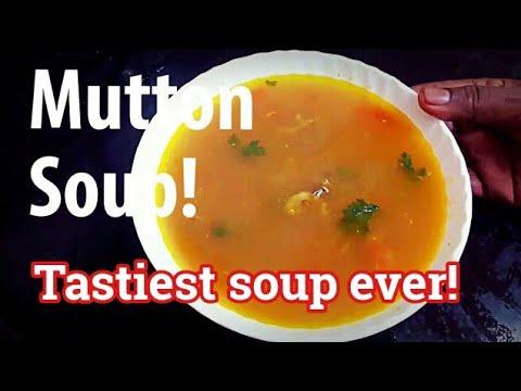 Mutton soup   super tasty, simple mutton soup (தமிழில்)