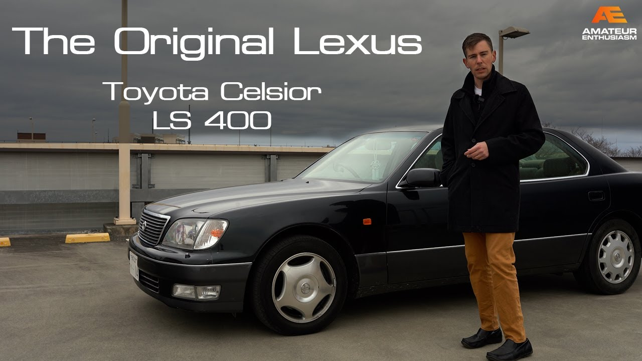 The Toyota Celsior is the JDM version of the first Lexus   Much Better