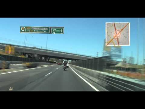 Melbourne Airport to City Via Bolte Bridge | Tullamarine Freeway | Breakshift - Throughout The Fall