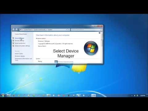 How to Turn On Bluetooth in Windows 7 (ASUS N43SL)