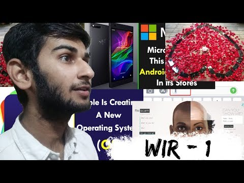Week In Review #1 - Buy Razor Smartphone, Real-life Iron man ,Iphone x Issue,25 Iphone x,Re:scam