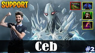 Ceb - Ancient Apparition Safelane | SUPPOT | Dota 2 Pro MMR Gameplay #2
