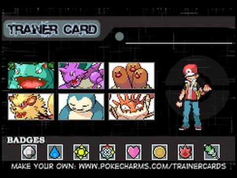 Pokemon Fire Red Team