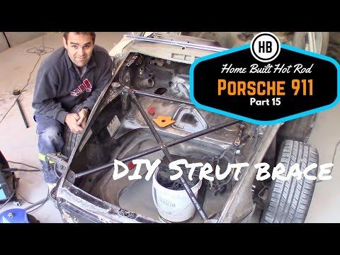 Making a Strut Brace - Porsche 911 Classic Car Build Part 15