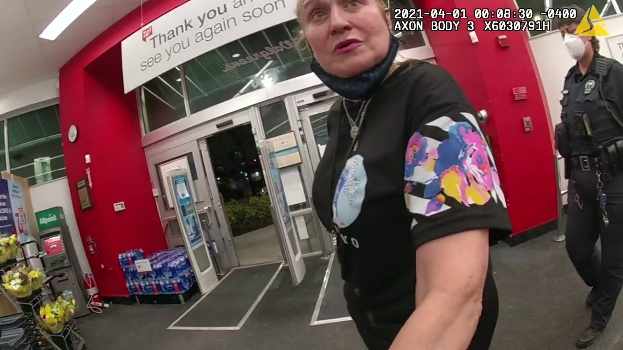 Police body cam footage shows woman on racist rant at Florida Walgreens