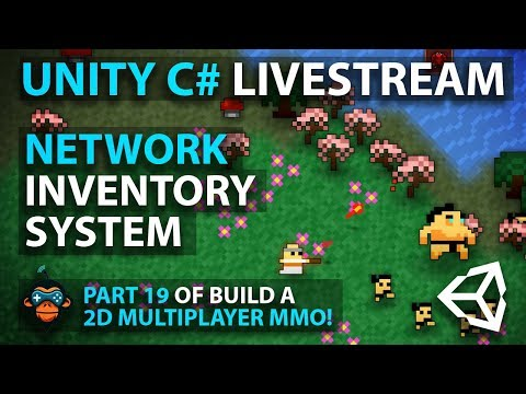 C# with Unity Live Programming #26 - Multiplayer 3D Top Down Adventure MMORPG Part 18