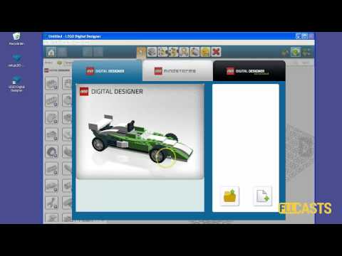 How to setup LEGO Digital Designer and Ldraw on Windows