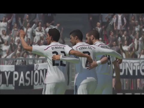 PES 2015: Cristiano Ronaldo - Goal Celebration - PS4