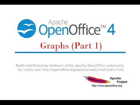 Creating Graphs and Charts in Open Office Calc