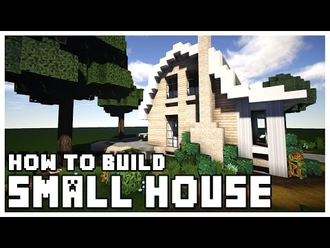 Minecraft: How To Make a Small House + Download